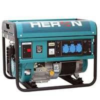 Elektrocentrála jednofázová benzínová 5500 W, 13HP, pro svařování- EGM 55AVR-1 Heron