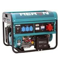 Elektrocentrála třífázová benzínová 6000W, 13HP elektrický start Heron