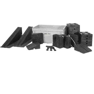 Sada podkládacích bloků F600-2
