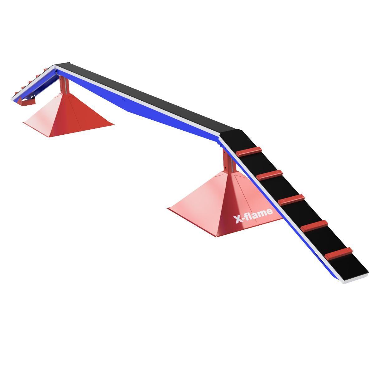 Kladina dětská VARIO 0,8 x 4 m, tartan, požární sport