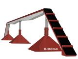 Kladina stavitelná VARIO 1,2m/0,8m x 8 m povrch tartan