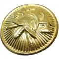 Knoflík zlatý se znakem SDH 15mm