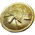 Knoflík zlatý - zapichovací