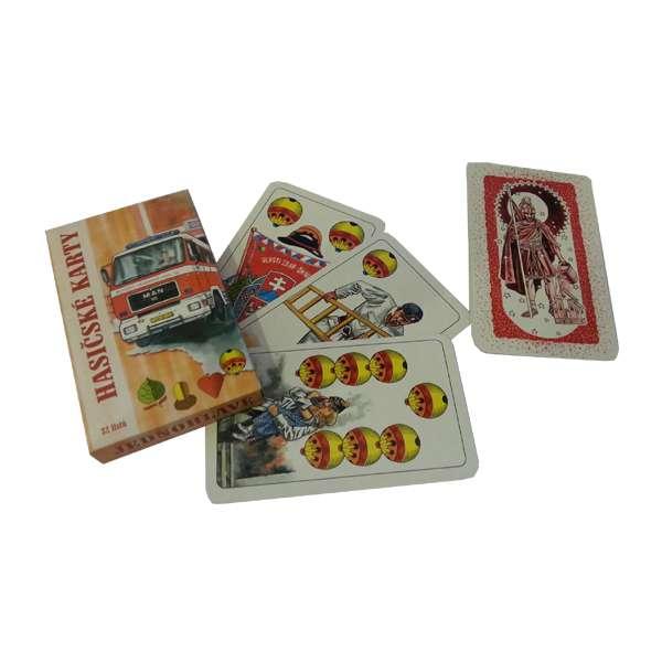 Hasičské mariášové karty