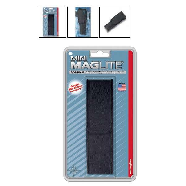Nylon. opaskový nosič pro Mini AA MAG-LITE