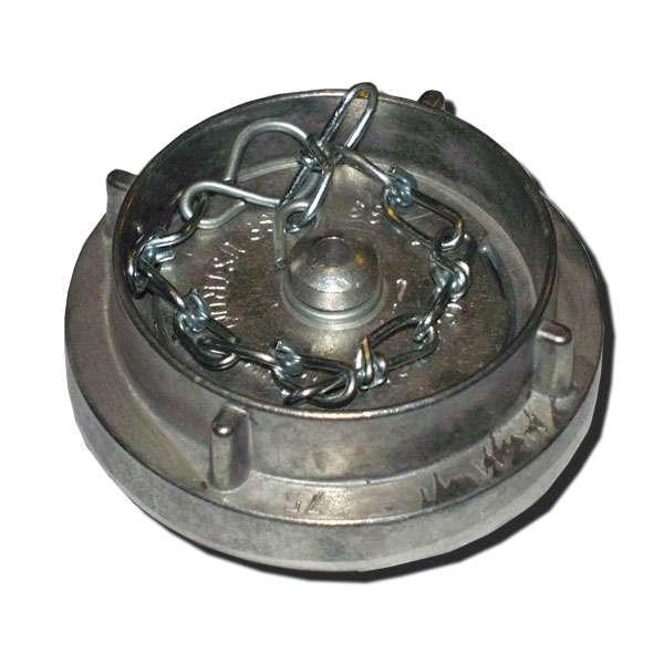 Víčko tlakové spojky B75 s řetízkem