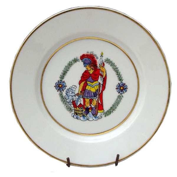 Ozdobný talíř – Floriánek