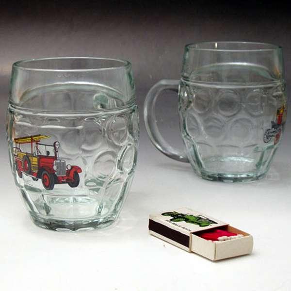 Pivní půllitr s uchem – hasičky