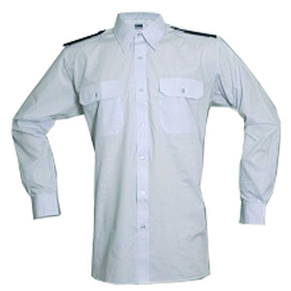 Košile modrá dlouhý rukáv SDH + modré výložky