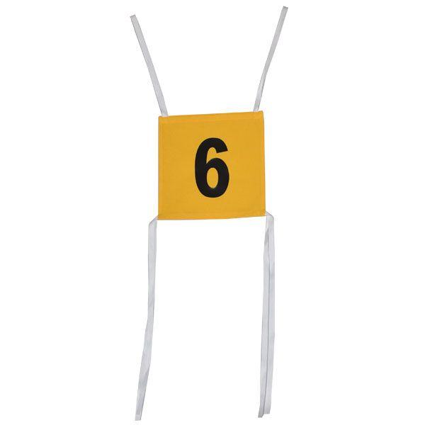 Startovní číslo oboustranné X-flame