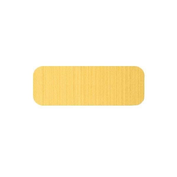 Štítek laserový SK zlatý