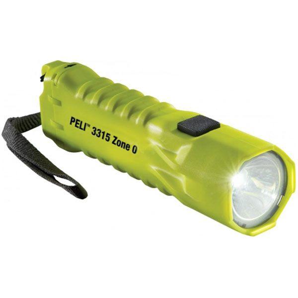 Svítilna pro hasiče PELI 3315ZO ,3AA LED,žlutá- NOVÝ ATEX