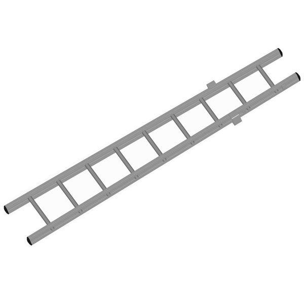 Žebřík nastavovací PROFI základní spodní díl – Al (1 díl)