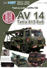 AV 14 Tatra 815 6x6 1:32