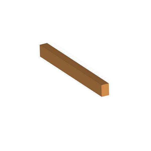 Dřevěná příčle plná