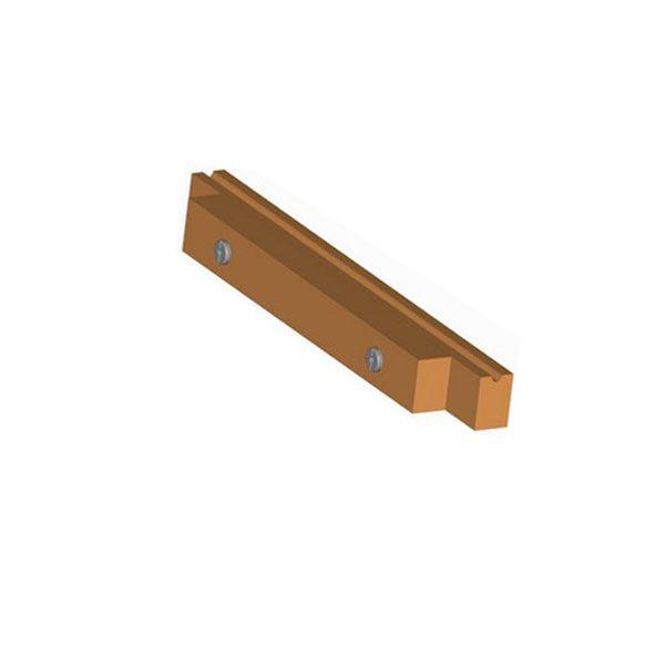 Dřevěná příčle s nášlapem