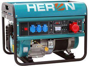 Elektrocentrála benzínová 15HP/6,8kw, pro svařování Heron