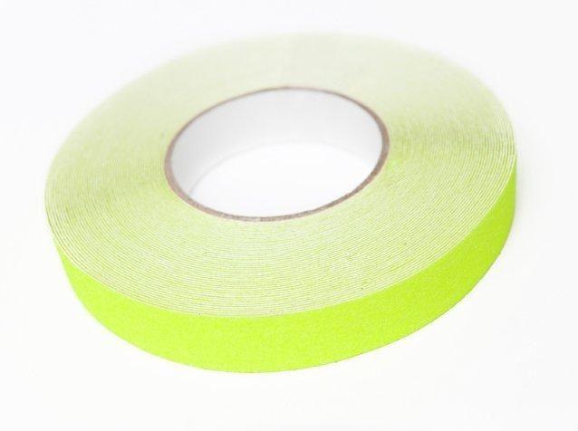 Protiskluzová páska Fluorescentní šíře 25 mm