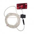 Sada světlo,spínač - levý terč 15m kabel