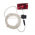 Sada světlo,spínač - pravý terč 10m kabel