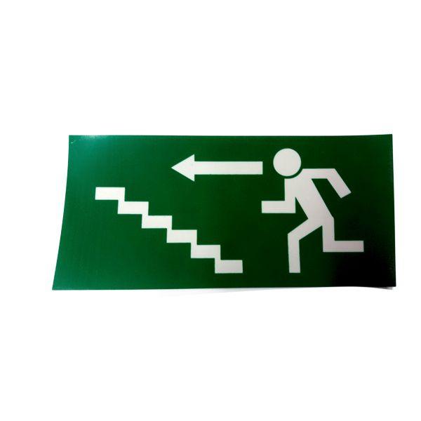 Tabulka únikové schodiště LN