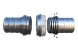 Savice 1,6 m se šroubením Profi-Extra,pr. 110 mm, Appolo Superflex naklapávací košovka, ...