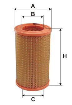 Filtr vzduchový X-flame
