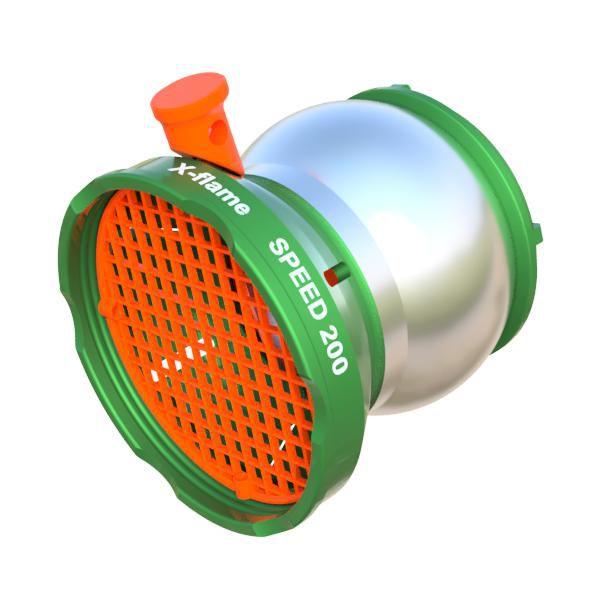 Sací koš SPEED 192 (oka síta 10x10 mm) X-flame