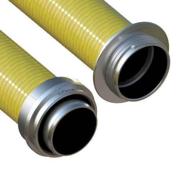 Savice 1,6 m se šroubením Al, pr. 110 mm, Flame 45 - žlutá