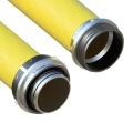 Savice 1,6 m se šroubením Profi-Extra,pr. 110 mm,  Flame 45 žlutá naklapávací košovka, bez prstence