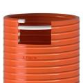 Savice 1,6m se šroubením Profi-Extra,pr.110mm, Flame 50 oranžová s naklapávací košovkou bez prstence X-flame