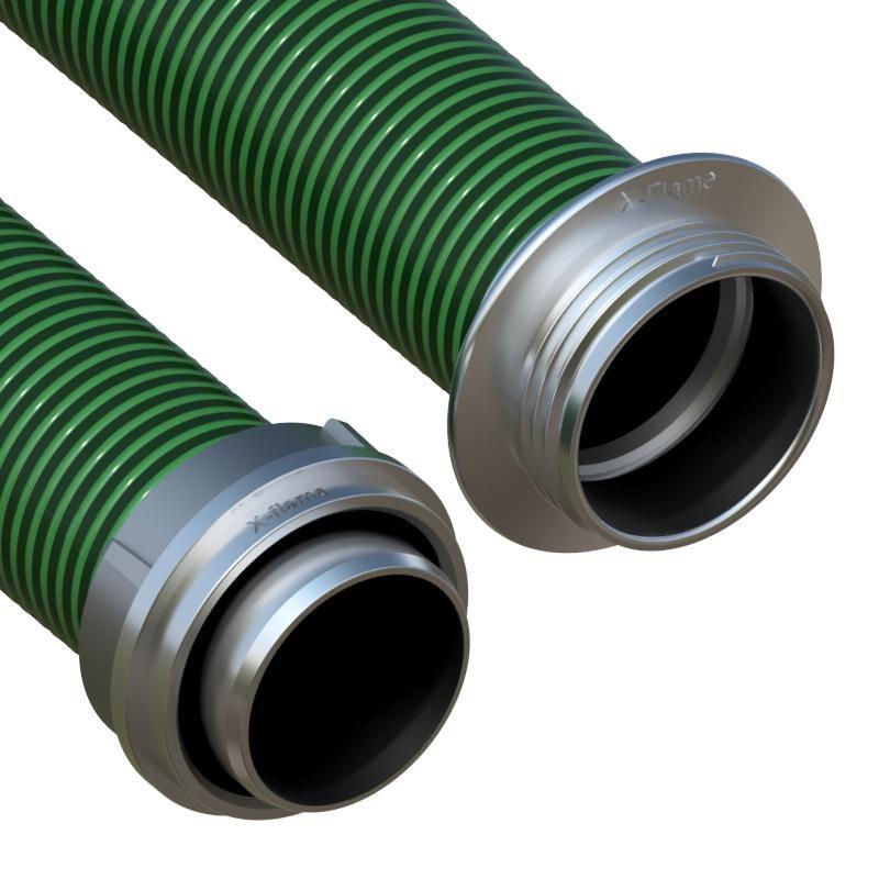 Savice 2,5 m se šroubením AL, p. 110 mm,Flame-75 zelená