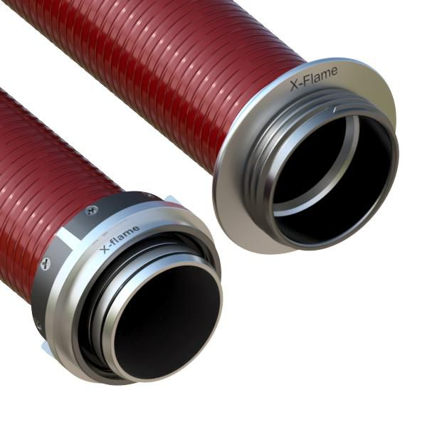 Savice 2,5 m se šroubením Profi-Extra, pr. 110 mm, FIRE ELASTIK