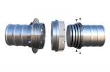 Savice 2,5m se šroubením Profi-Extra,pr.110mm,Appolo Superflex s naklapávací košovkou a prstencem