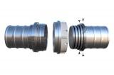 Savice 2,5m se šroubením Profi-Extra,pr.110mm,Appolo Superflex s naklapávací košovkou bez prstence