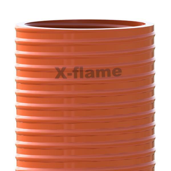 Savicový material 2,4 m, pr. 105 mm, Flame 50 - oranžová