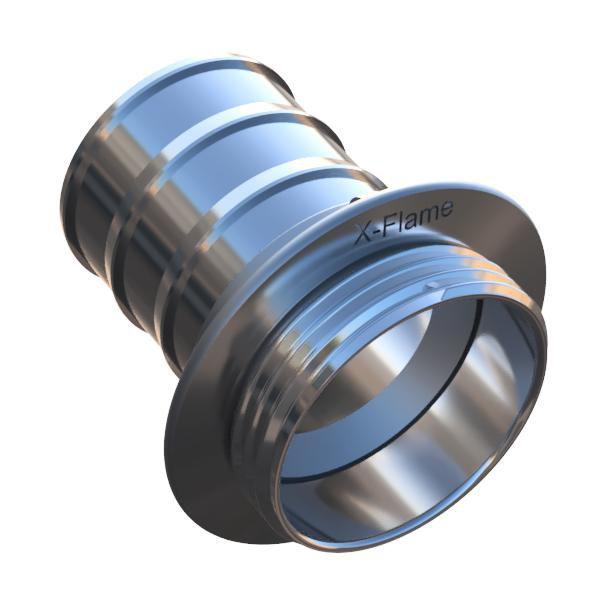 Závitová část šroubení Profi-Extra naklapávací košovka s prstencem model 2013
